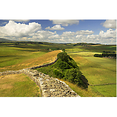 Hadrianswall in Nordengland